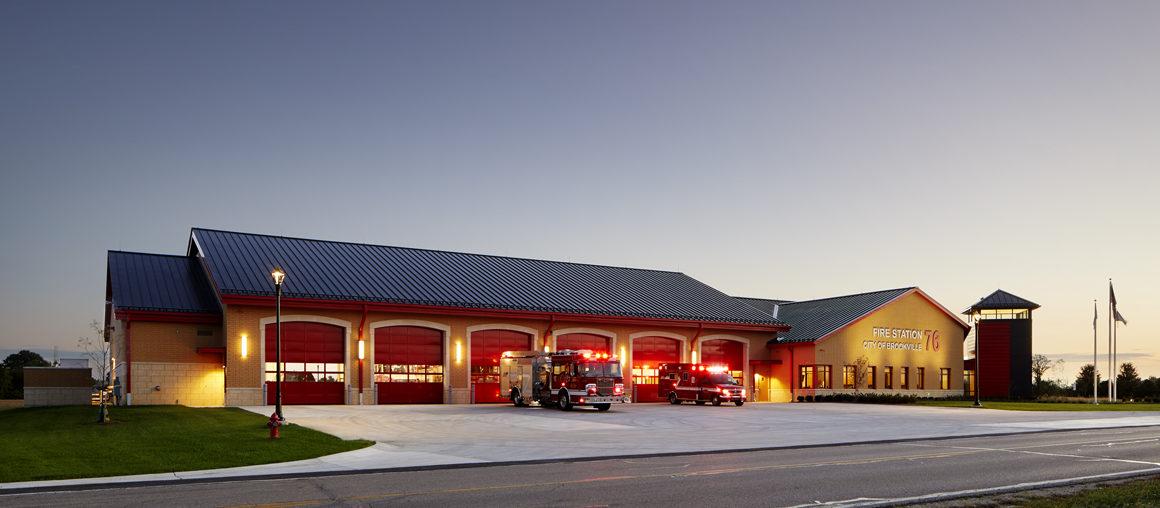Brookville Station 76 exterior 2 1160×840